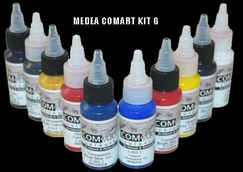 Medea Kit G Opaque and Transparent Colour Set