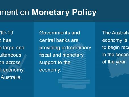 RBA Statement of Monetary Policy- May 2020