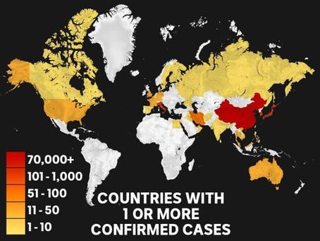 Coronavirus' Impact Globally- Feb 2020
