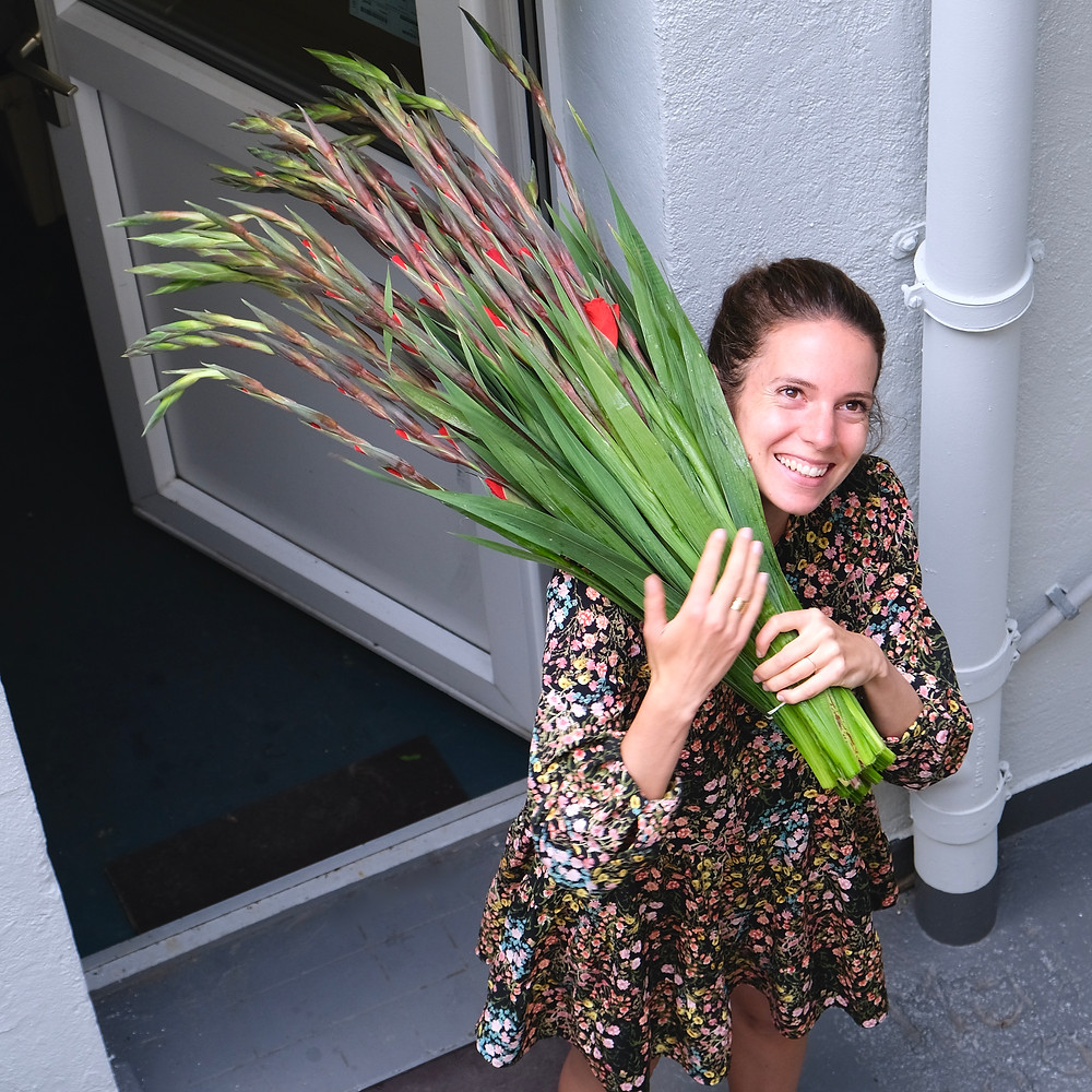 Blumenpost, Karriere, Arbeiten, Jobs, Blumen, Floristin, Nachhaltigkeit