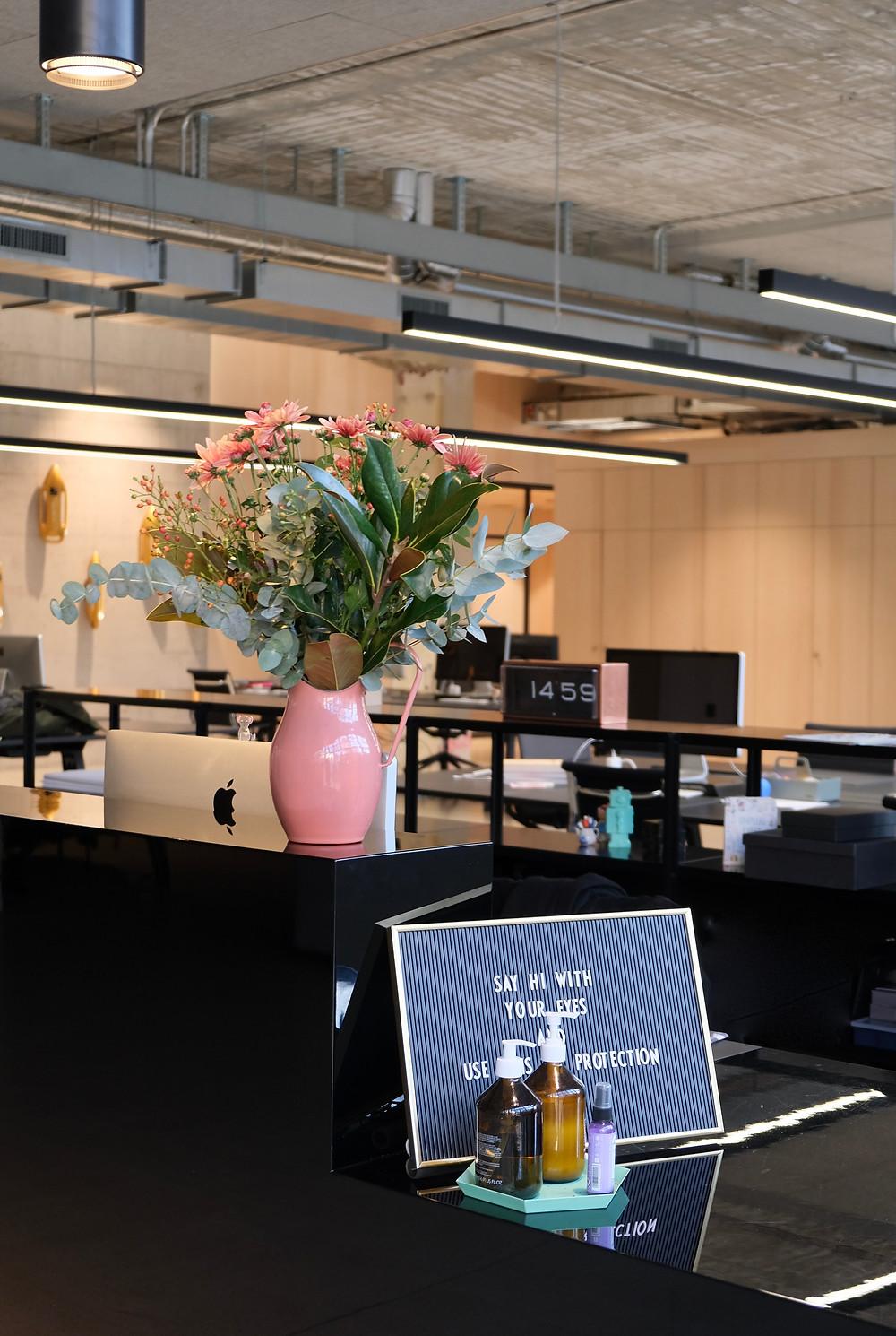 Blumenpost Hinderling Volkart Büro Blumen Blumenabo Lieferung