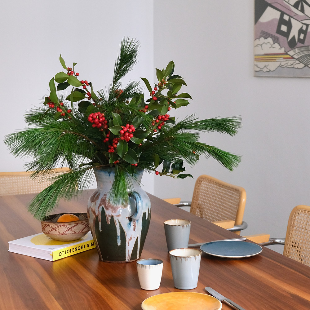 Blumenpost Dezember Advent Weihnachten Adventsstrauss Saison Bestellen
