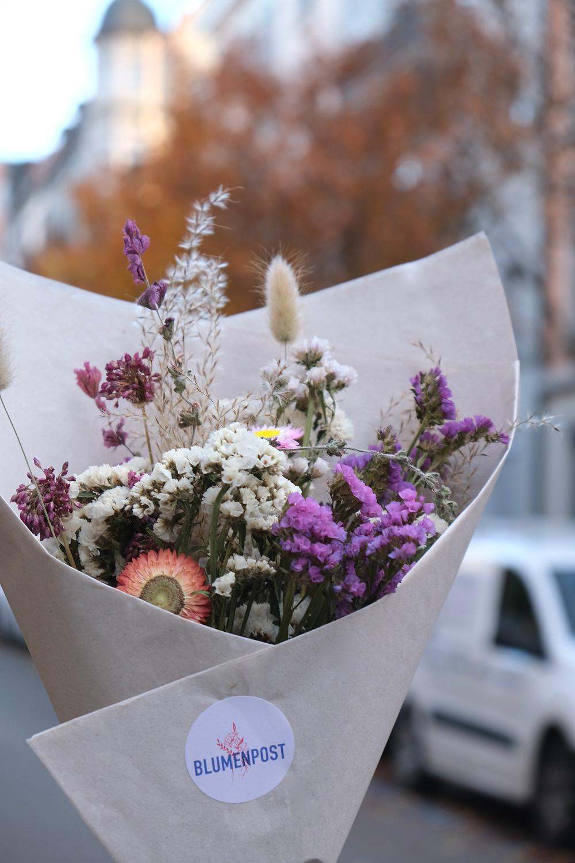 Trockenblumen Schweiz Blumenpost Lieferung Post Trockenstrauss Nachhaltigkeit