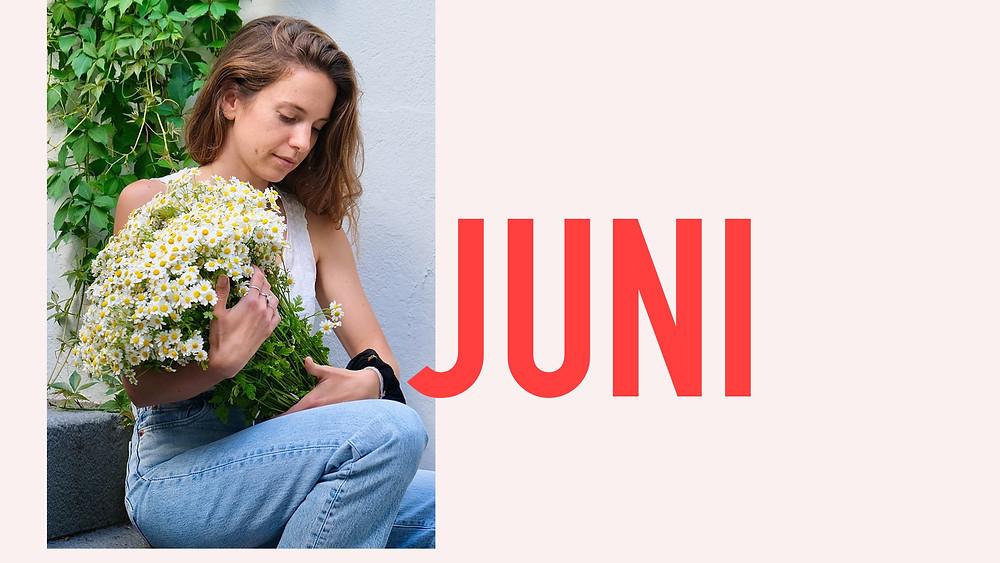 Saisonkalender Juni Blumenpost Schweiz