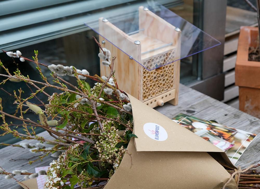 Blumenpost Verlosung Wildbiene und Partner
