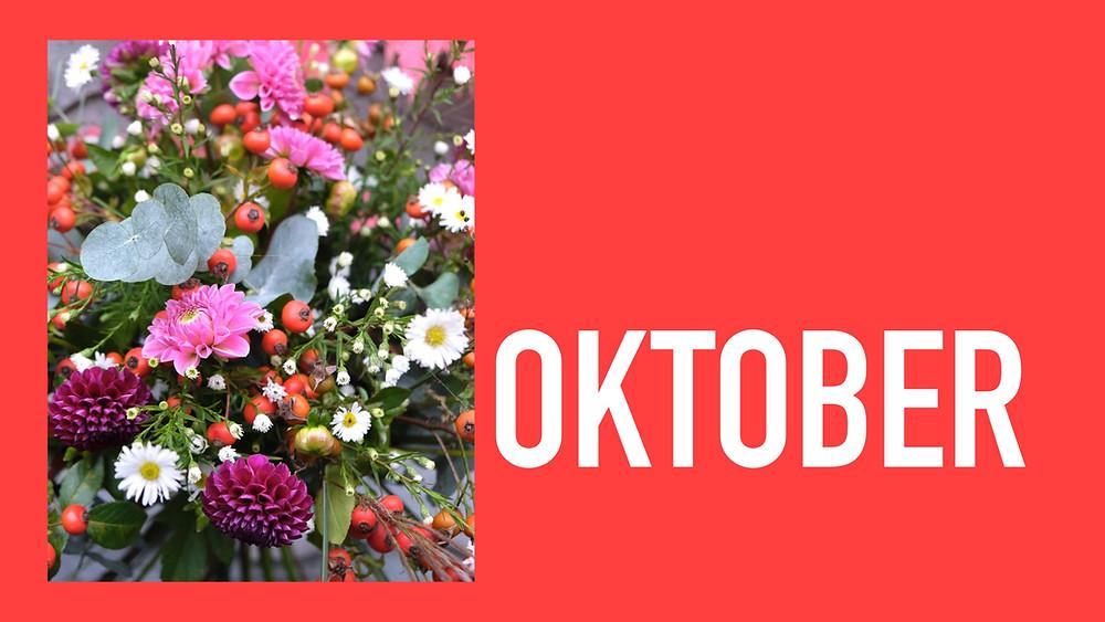 Saisonkalender Oktober Blumenpost Schweiz