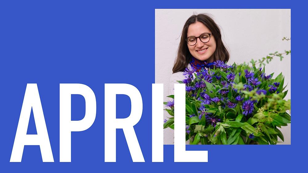 Saisonkalender April Blumenpost Schweiz