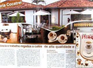 Cafeteria Cocatrel é capa da 6ª edição da Revista Prado