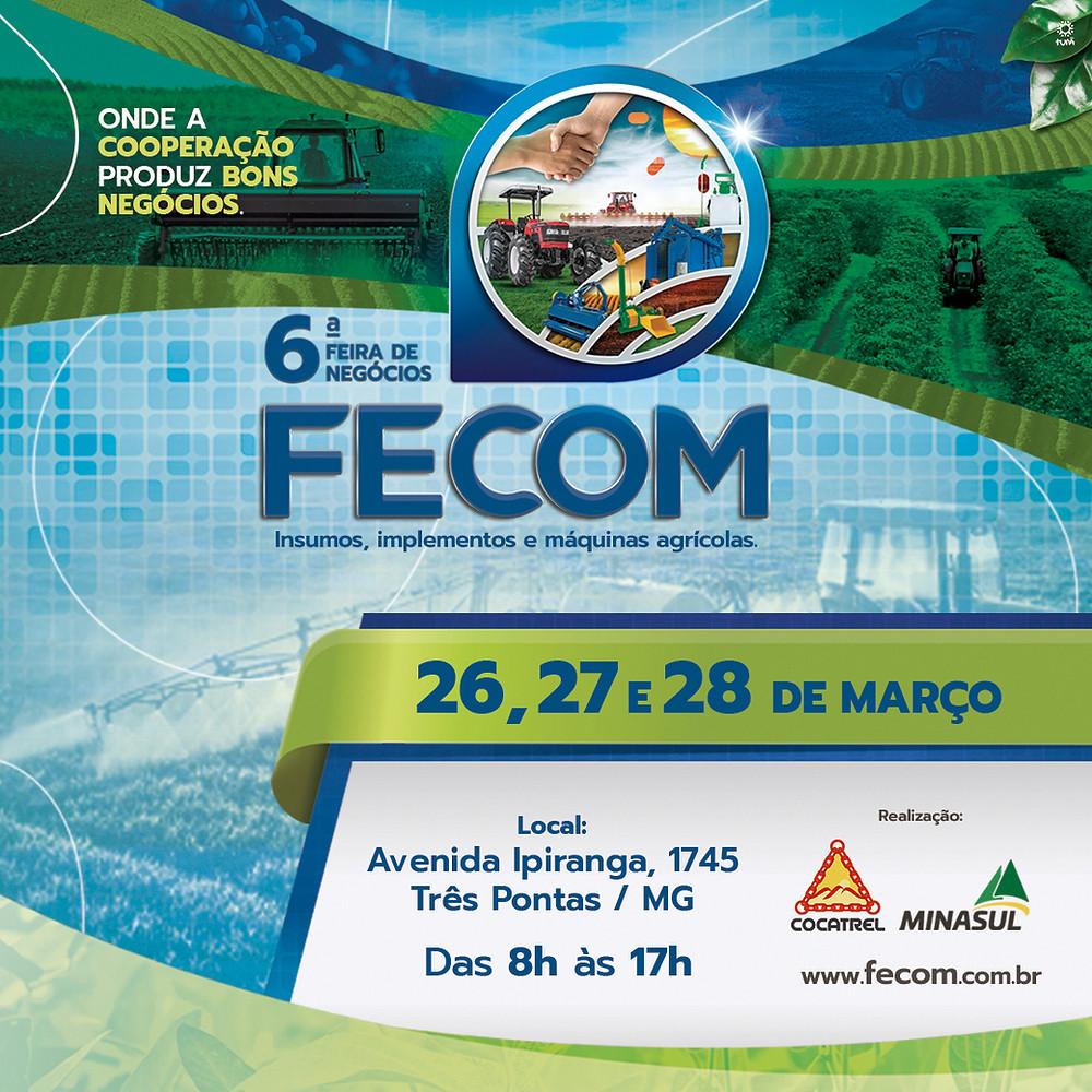 6ª FECOM traz excelentes oportunidades aos  produtores da região