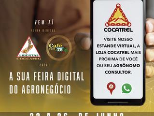 Cocatrel participa da Feira Digital Coccamig Café com TV