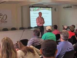 Cafés Especiais: Professor Borém realiza curso para integrantes do núcleo