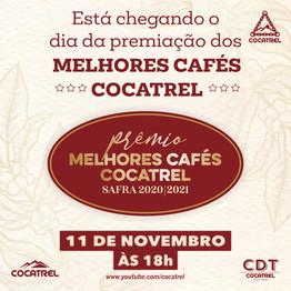 Cocatrel premia os produtores com os melhores cafés de 2020
