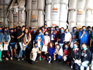 Cocatrel recebe alunos do 7º ao 9º ano da Escola Maria Augusta