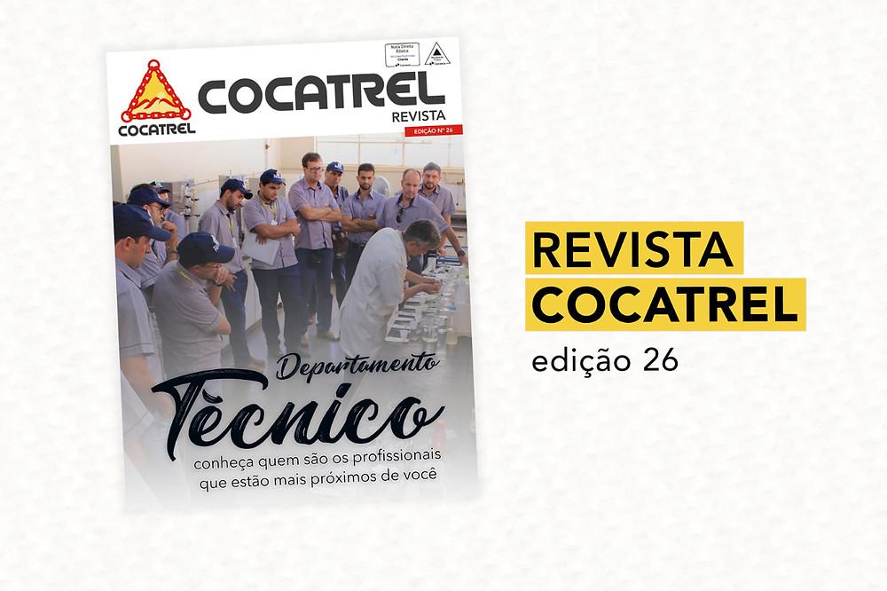Está no ar a 26º edição da Revista Cocatrel