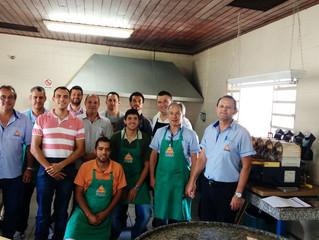 Colaboradores participam de curso de torra avançada para degustação de café