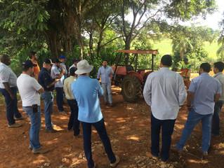 Técnicos e agrônomos da Cocatrel participam de treinamento sobre tecnologia de aplicação
