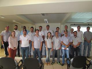 Equipe Técnica da Cocatrel participa de treinamento pré e pós colheita