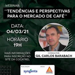 Webinar - Tendências e perspectivas para o mercado de café