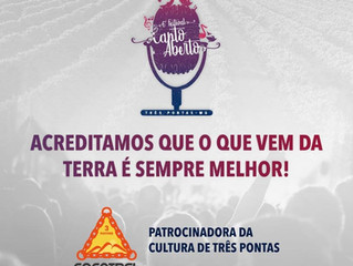 Três Pontas é palco do 6 º Festival Canto Aberto
