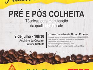 Palestra - Pré e Pós Colheita: técnicas para manutenção da qualidade do café
