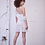 Thumbnail: White Lace off Shoulder Dress