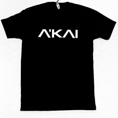 The A'KAI Black Logo T