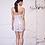 Thumbnail: Embroidered Gardenia Strapless Dress