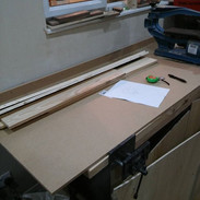 Getting ready for the next lap table #wo