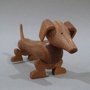 Making a dog on the lathe