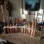 Lathe tool stands