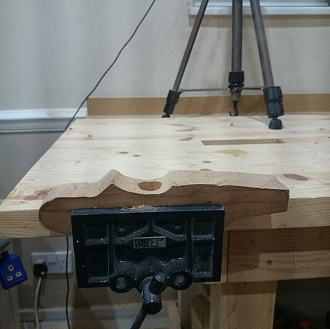 Back on the plane,  #woodworking.jpg