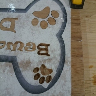 Looking good so far #woodworking #sign #