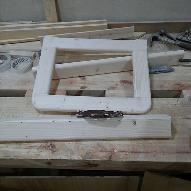 How i love sanding #woodworking.jpg