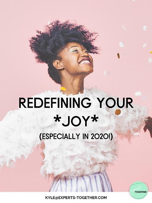 Redefining Your *JOY* Journal