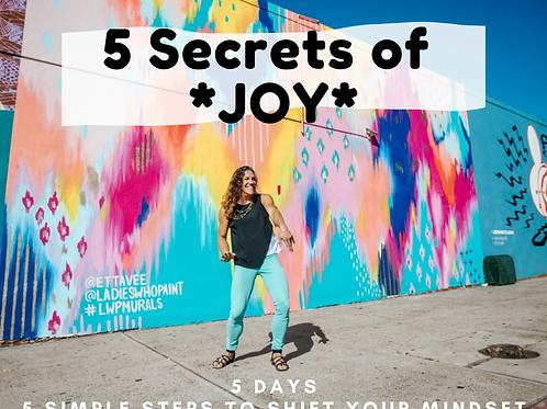 5 Secrets of *JOY*: Online Course