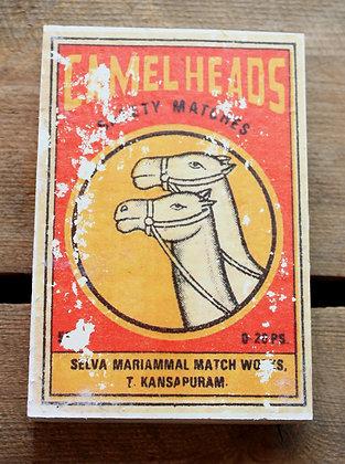 Camels – matchbox