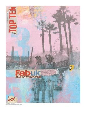 Fairground – A3 print