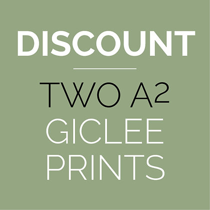 Discounted A2 prints x2