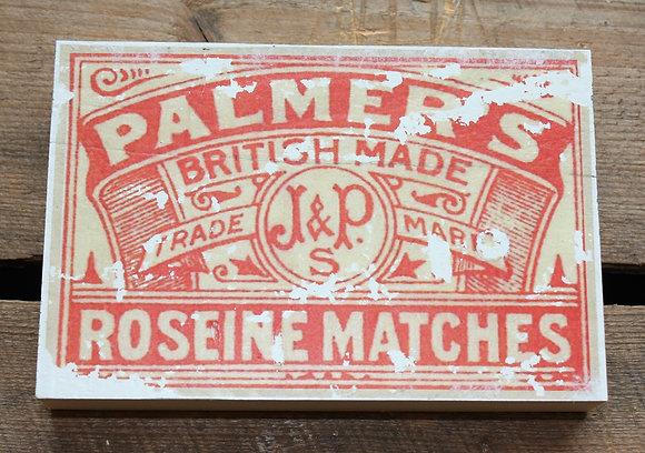 Palmers – matchbox