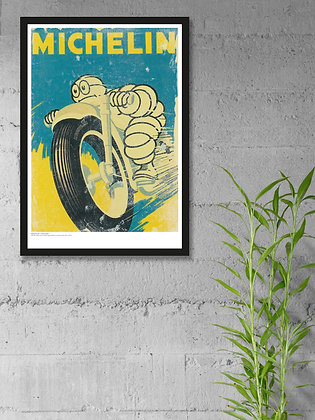 Michelin 1959 – Framed A3
