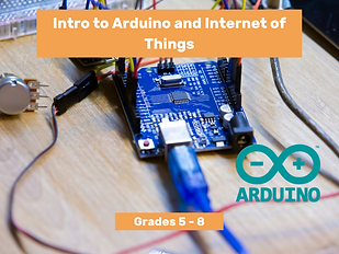 Intro to Arduino and Internet of Things