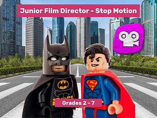 Junior Film Director - Stop Motion