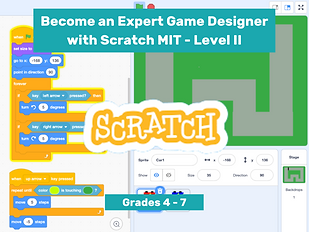 Become an Expert Game Designer with Scratch II