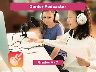 Junior Podcaster