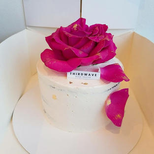 Flower Vanilla Cake