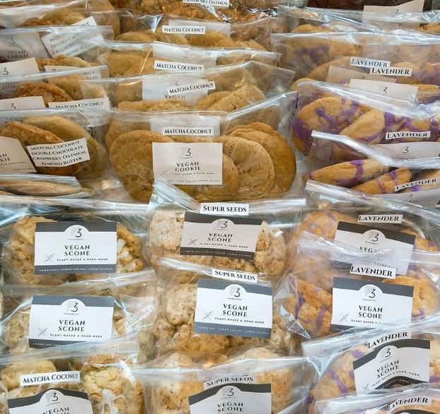 Vegan scones & Cookies