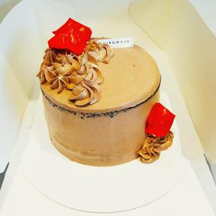 Petal Chocolate Cake