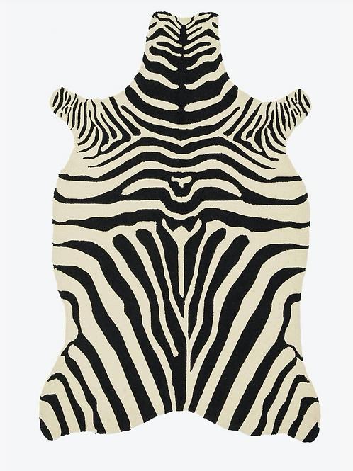 Zebra Outdoor Rug