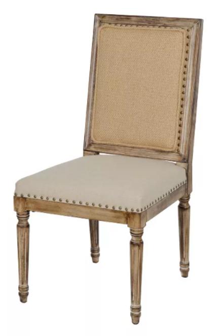 Madeleine Linen Chairs