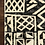 Thumbnail: Tribal Outdoor Rug in Ivory/Black
